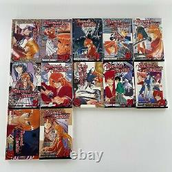 Rurouni Kenshin Near Complete Series Set Manga Book Lot Vol 1-28 No 25 English