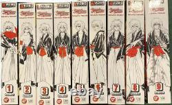 Rurouni Kenshin manga Complete Set Viz Big Vol. 1-9