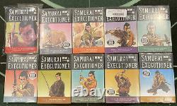 SAMURAI EXECUTIONER Vol 1-10 Complete Set Manga English RARE OOP