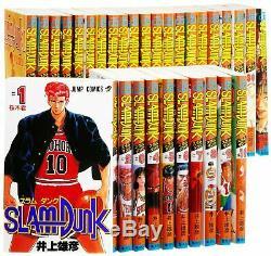 SLAM DUNK Comic Complete full set Vol. 1-31 Japanese Edition manga TAKEHIKO INOUE