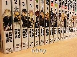 SOUL EATER 1-25 NOT! 1-2 Manga Collection Complete Set Run Volumes ENGLISH RARE