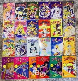 Sailor Moon Manga Tokyopop First Printings Complete Set OOP