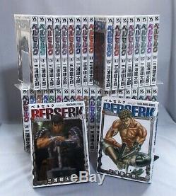 (Secondhand) Berserk Manga Latest Full Complete Set Vol. 1-40 Comic
