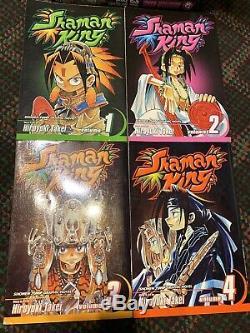 Shaman King Shonen Jump Manga English Vol. 1 32 Complete Series Hiroyuki Takei