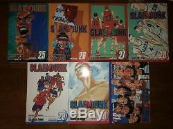 Slam Dunk Manga Volume 1-31 Complete English Great Condition