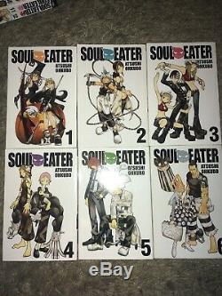 Soul Eater Manga Atsushi Ohkubo Complete Collection Volume 1 25 RARE