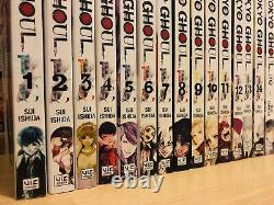 TOKYO GHOUL 1-14 RE 1-4 PAST VOID Manga Collection Complete Set Run ENGLISH RARE