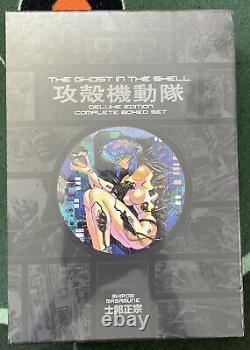 The Ghost in the Shell Deluxe Complete Box Set English Manga Shirow Masamune OOP