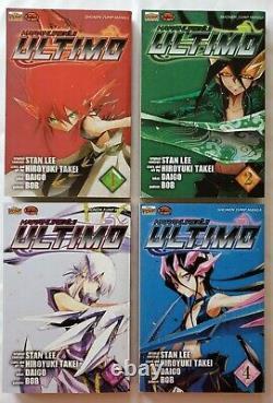 Ultimo Vol 1-12 Manga English Stan Lee Complete Full Set Run Karakuridoji