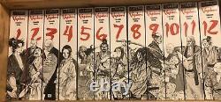 Vagabond English Manga COMPLETE SERIES VIZ BIG Volume 1-12 by Takehiko Inoue
