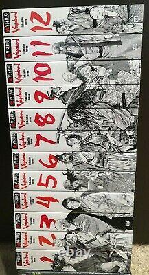 Vagabond Vol 1-12 English Manga Complete