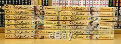 W JULIET 1-14 Manga Collection Complete Set Run Volumes ENGLISH RARE