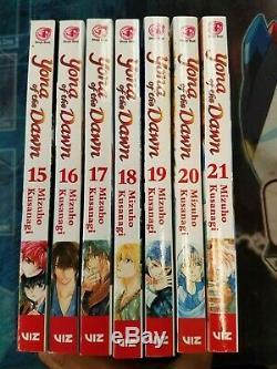 Yona of the Dawn COMPLETE Manga Series English Vols 01-24 LATEST VOLUME! NEW 10
