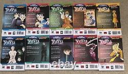 Yu Yu Hakusho Manga English Set Complete 1-19 Yuyu Hakusho RARE