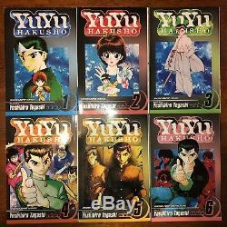 Yu Yu Hakusho Manga Volume 1-19 English Complete